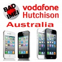 Liberación iPhone Vodafone Hutchison Australia por IMEI Black List